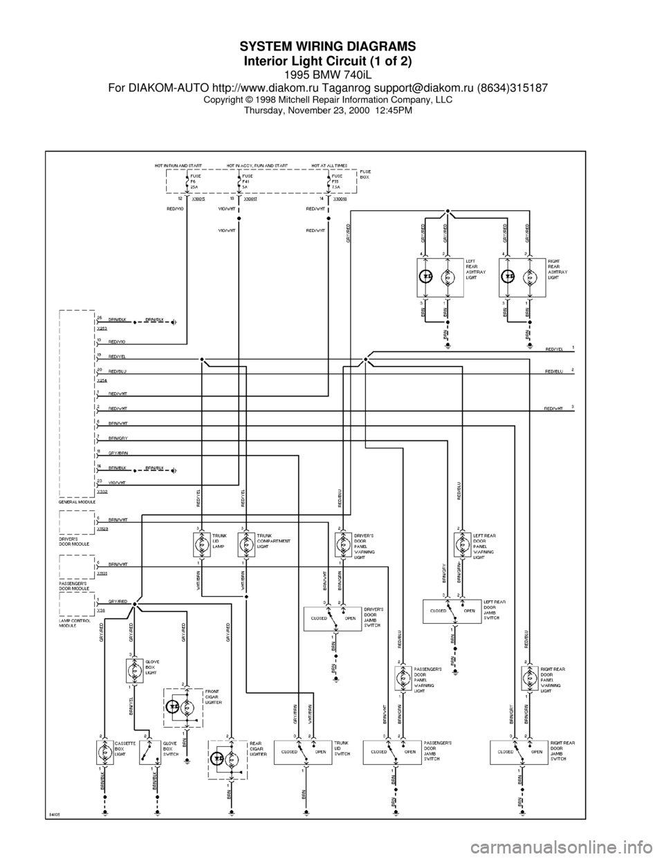 Bmw E38 Amplifier Wiring Diagram Manual Another Blog About 740il 1995 System Diagrams