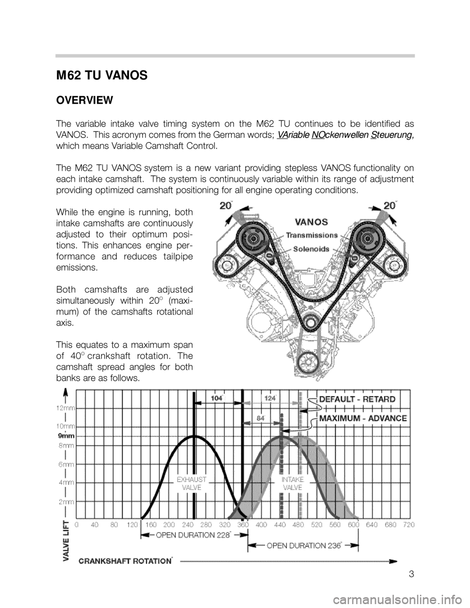 Bmw 740i 1999 E38 M62tu Engine Workshop Manual 2001 740il Exhaust Diagram Wiring Schematic