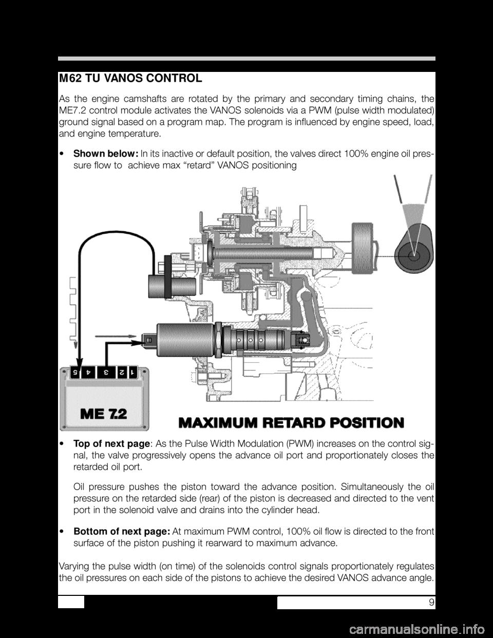 BMW 740i 2000 E38 M62TU Engine Workshop Manual (37 Pages)   Bmw M62 Engine Diagram Free Download      Car Manuals Online