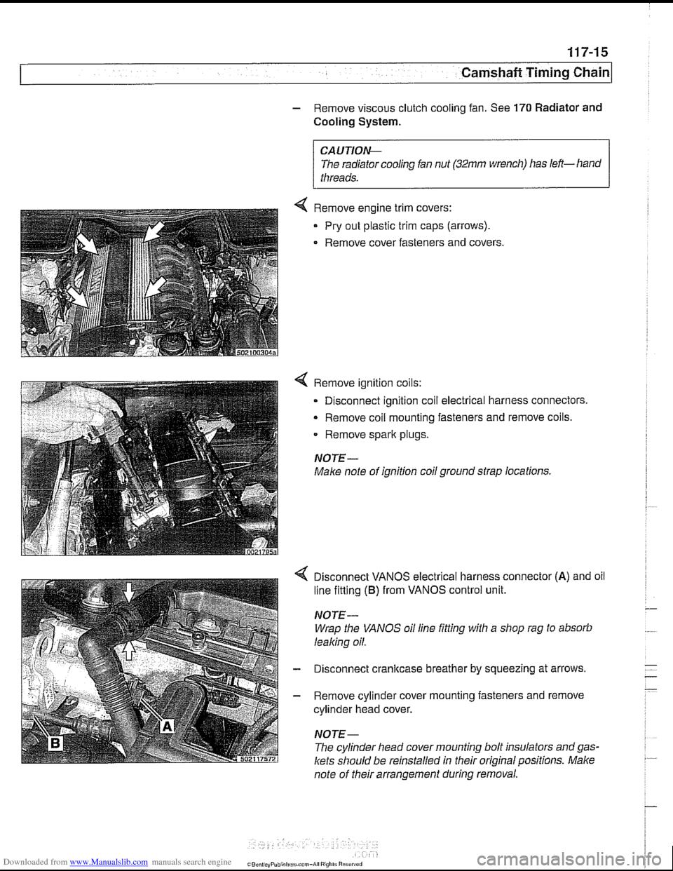 Engine Bmw 530i 1998 E39 Workshop Manual Module Wiring Diagram