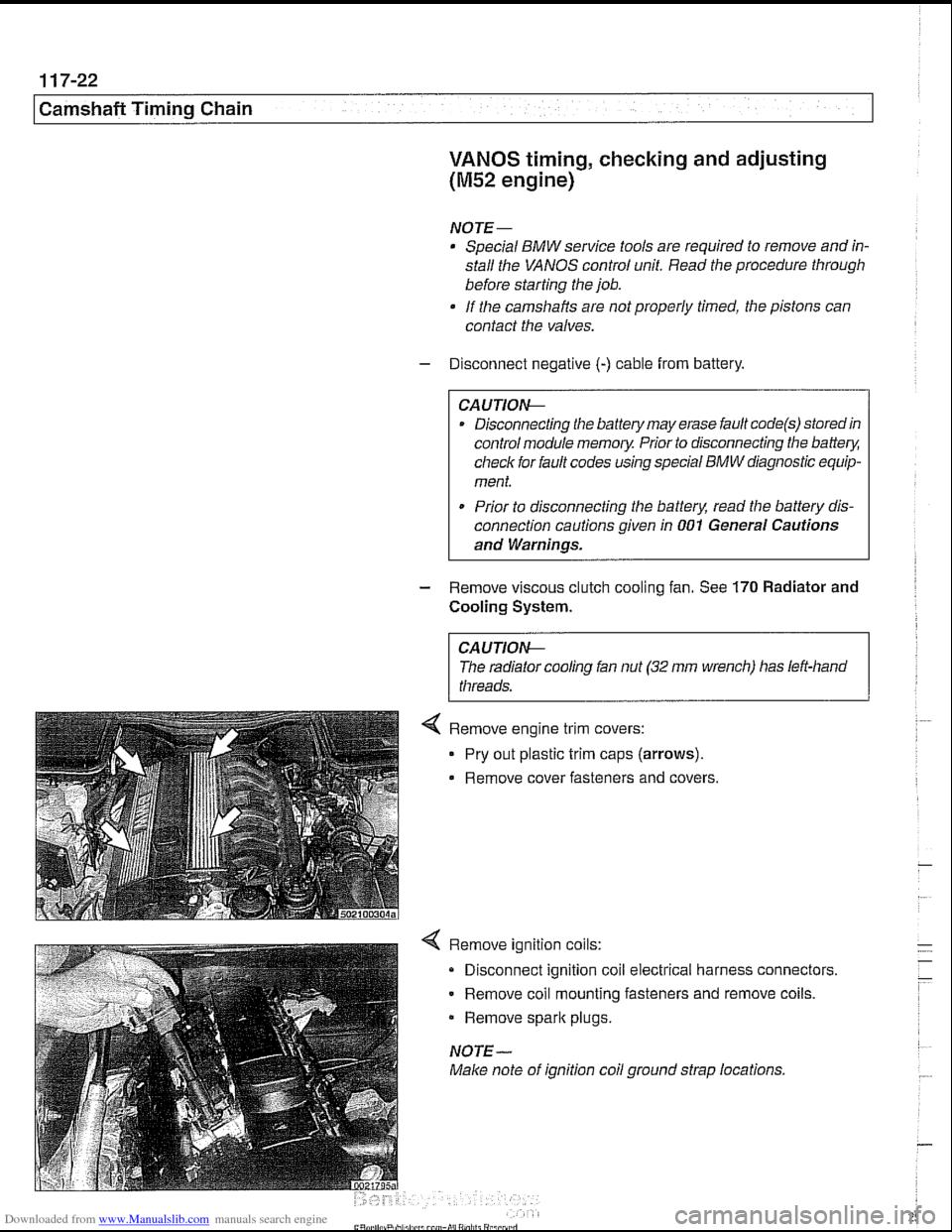 Engine Bmw 530i 1998 E39 Workshop Manual Module Wiring Diagram Page 258