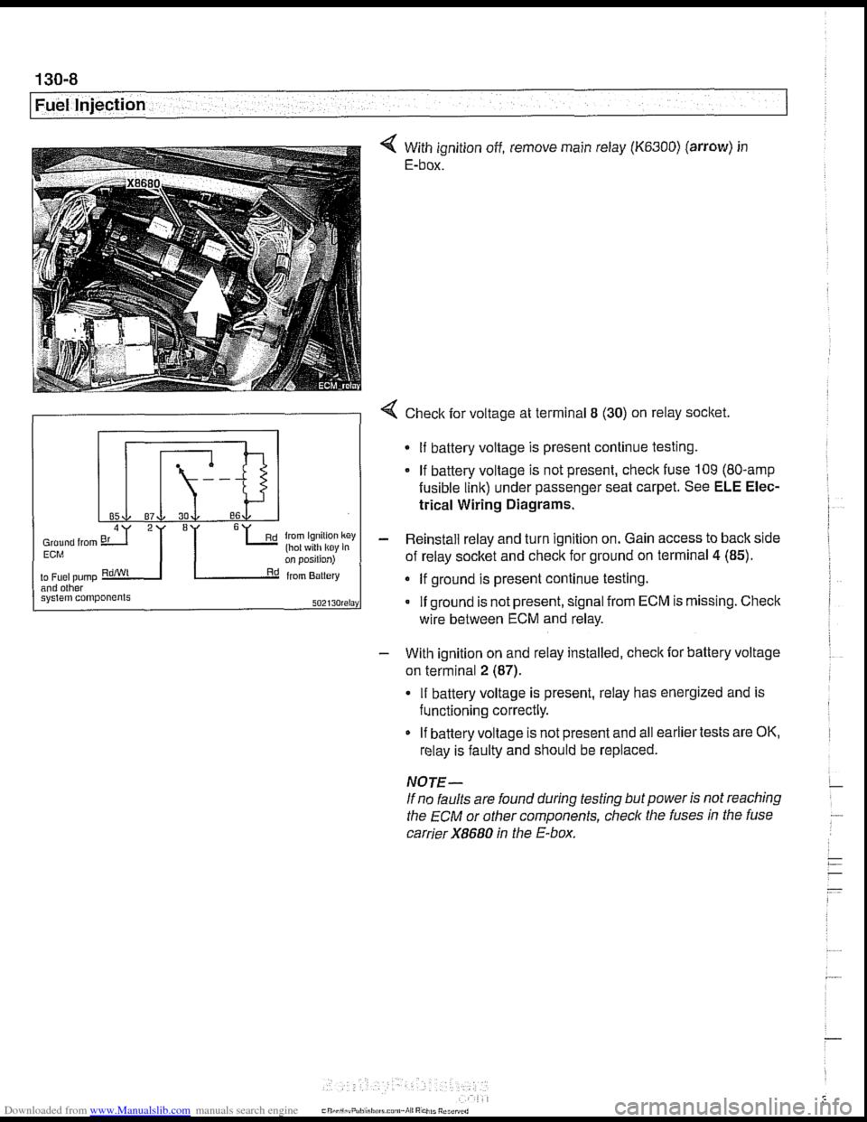 Bmw 528i 1997 E39 Workshop Manual Amp Wiring Diagram