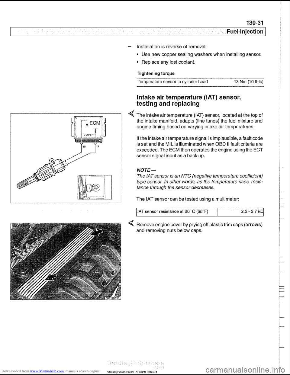 bmw 540i 1999 e39 workshop manual. Black Bedroom Furniture Sets. Home Design Ideas