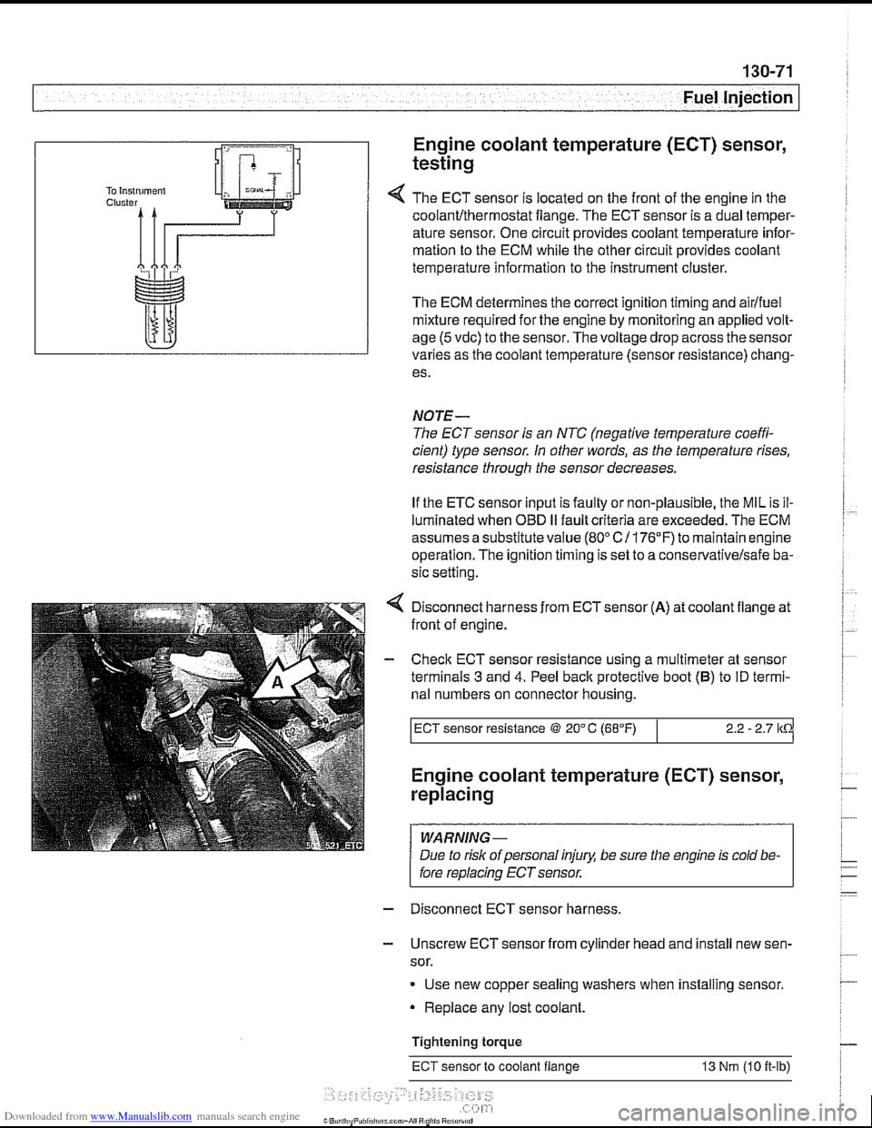 Bmw 540i 1997 E39 Workshop Manual 528i Wiring Harness