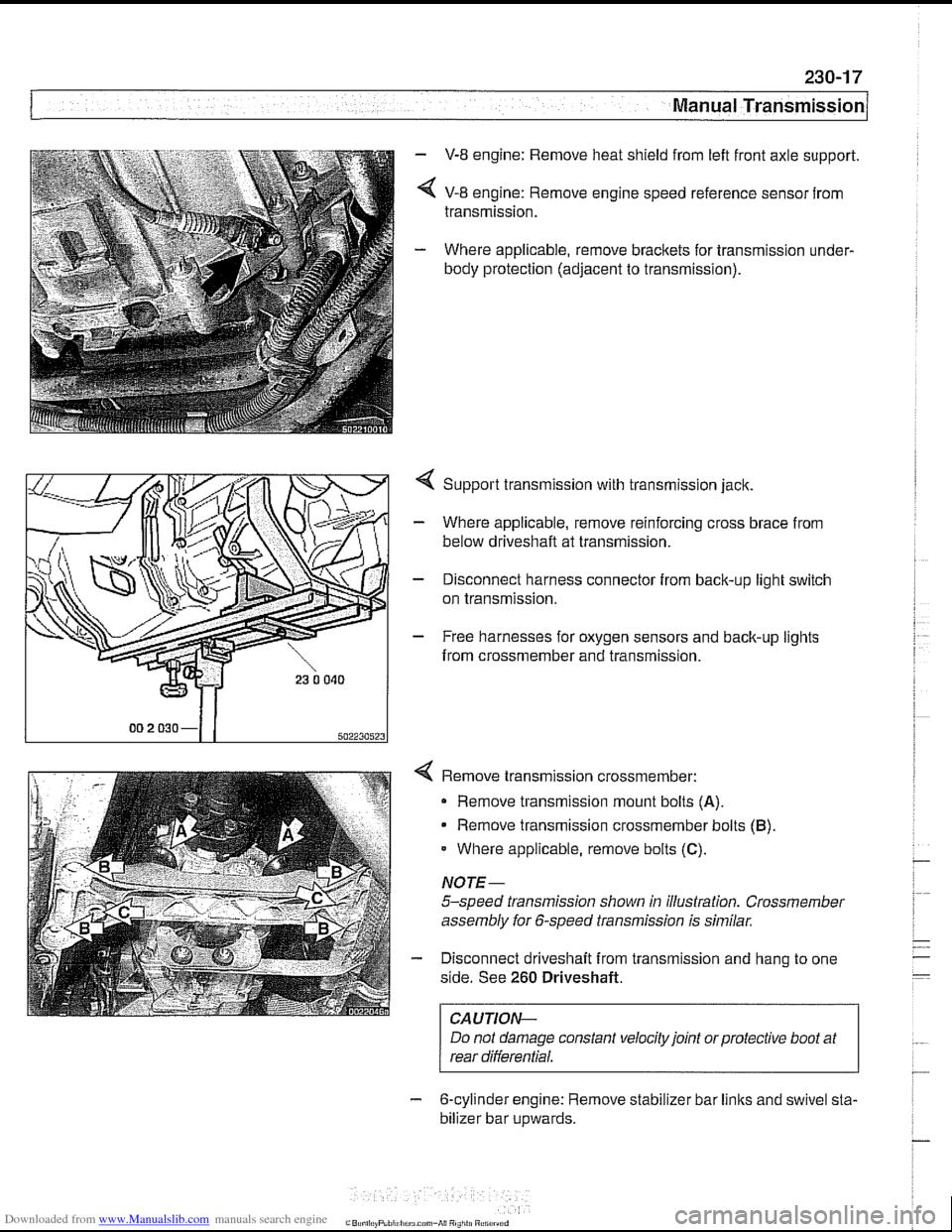 Bmw 530i 2001 E39 Workshop Manual Engine Module Wiring Diagram