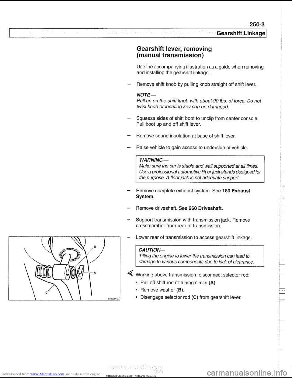 ... Array - bmw 530i 2001 e39 workshop manual rh carmanualsonline info ...