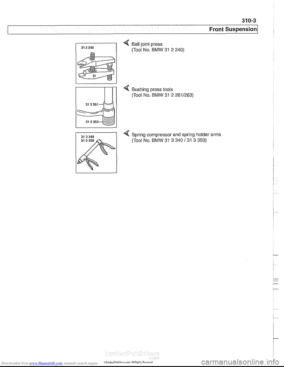 Bmw 540i 1998 E39 Workshop Manual