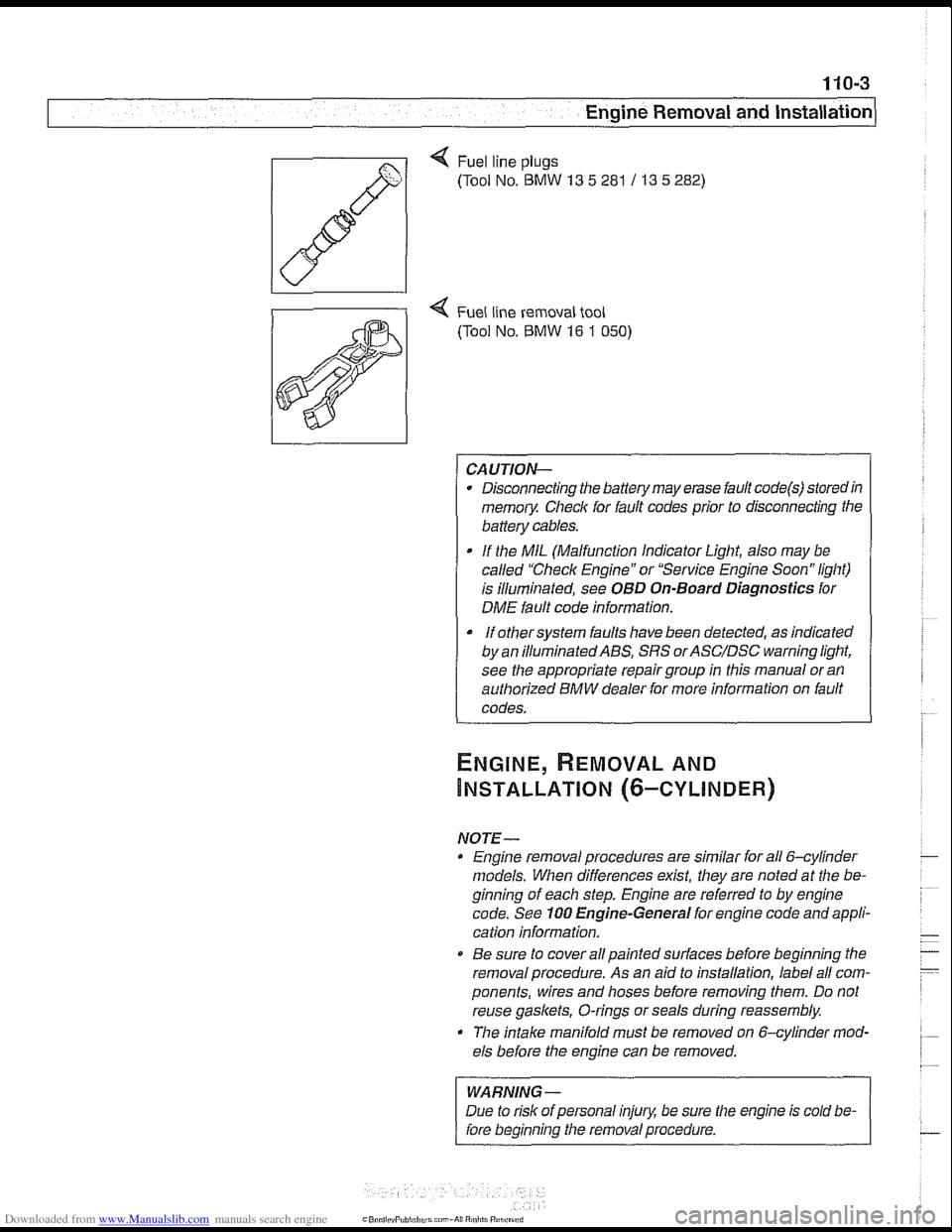 BMW 540i 1999 E39 Workshop Manual – Dme 540i Fuse Diagram