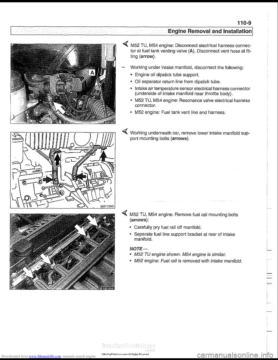 Bmw 525i 1999 E39 Workshop Manual M62 Engine Vacuum Diagram