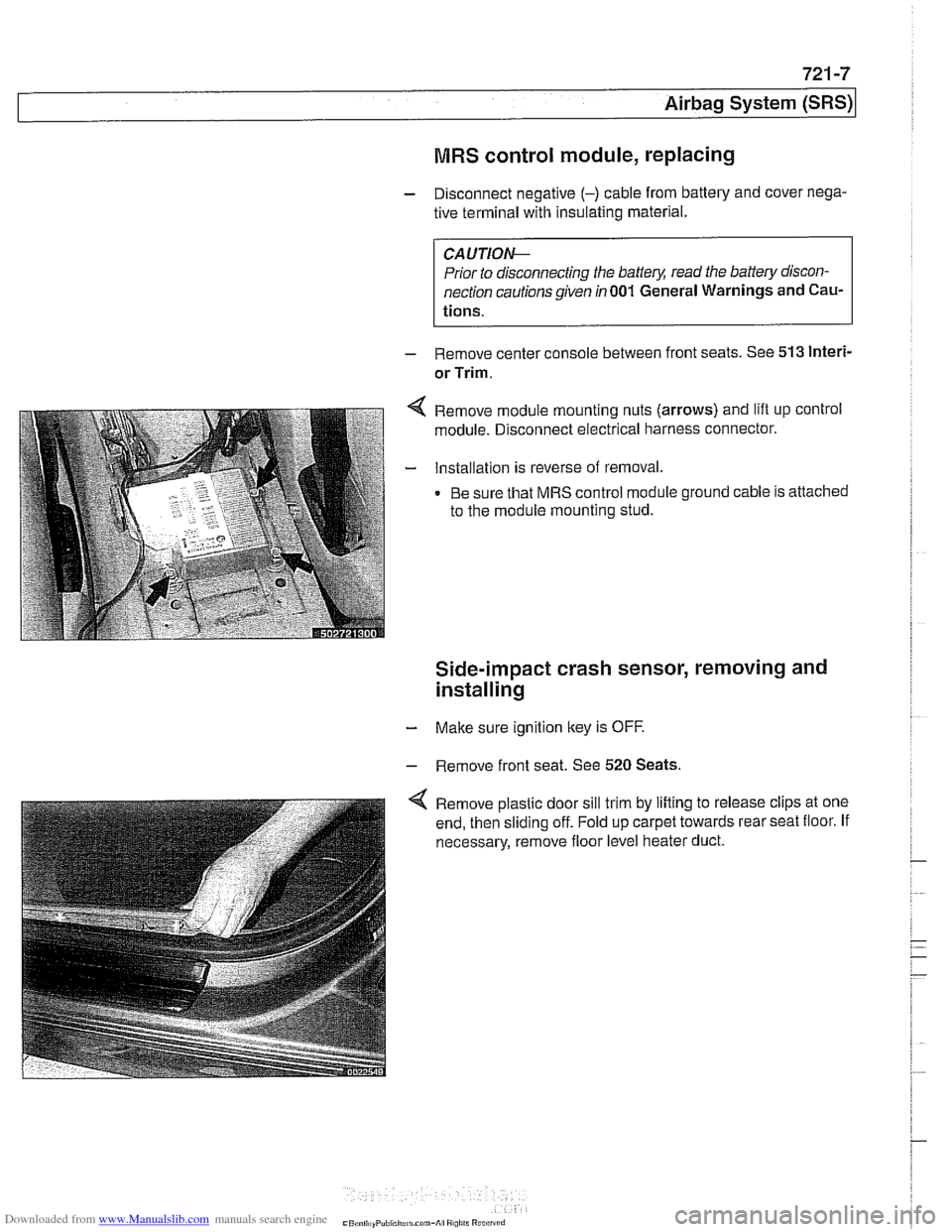 Engine Bmw 530i 2001 E39 Workshop Manual Module Wiring Diagram Page 955
