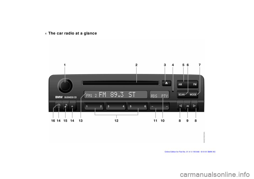 bmw 1 series radio manual