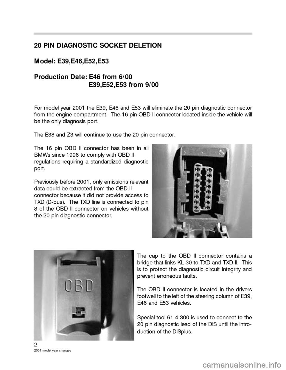 BMW 3 SERIES 2003 E46 Model Yar Changes, Page 2
