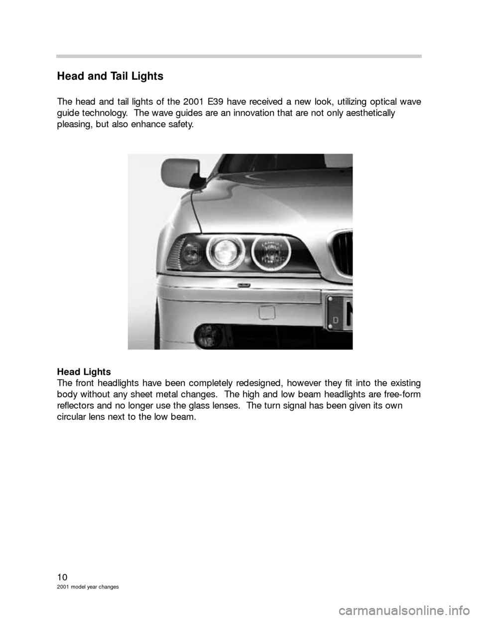 BMW 3 SERIES 2003 E46 Model Yar Changes, Page 10