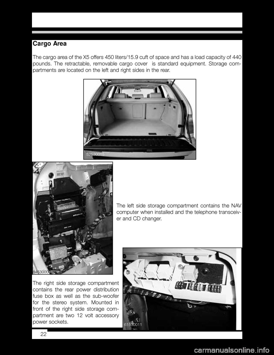 Bmw X5 2005 E53 Workshop Manual Fuse Diagram