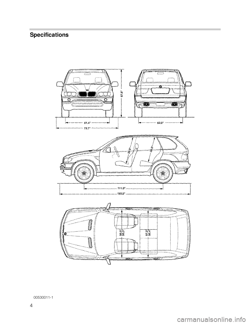 BMW X5 2002 E53 Workshop Manual