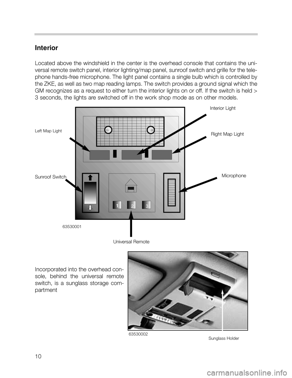 Bmw X5 2003 E53 Workshop Manual 52 Pages