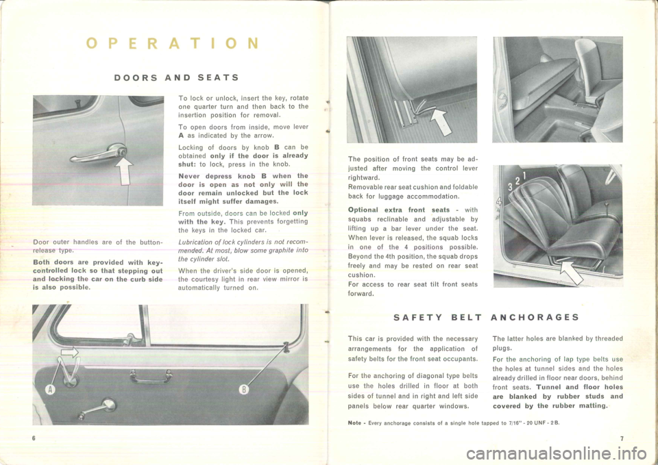FIAT 500 1957 1.G Instruction Manual, Page 7