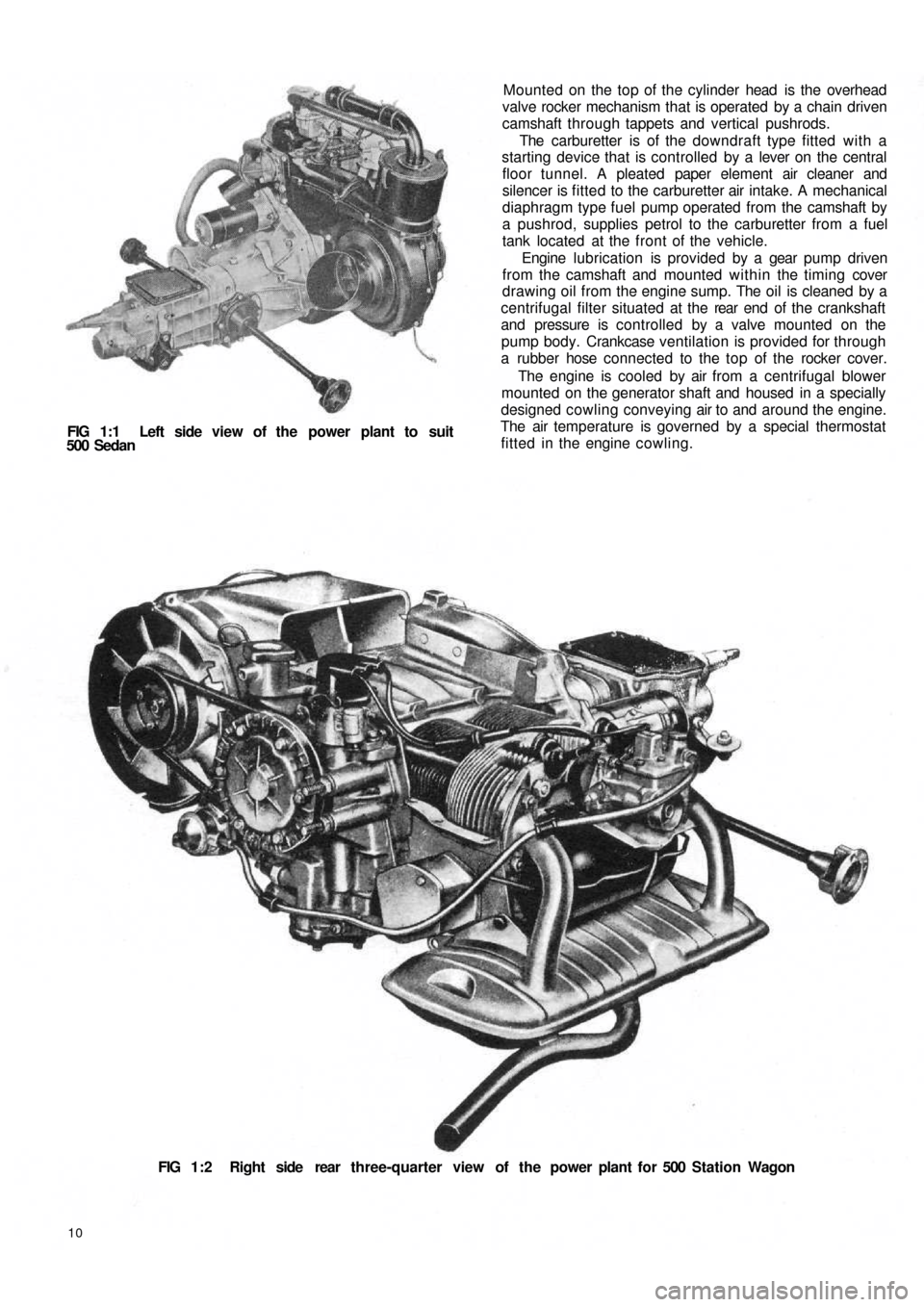 FIAT 500 1970 1.G Workshop Manual, Page 3