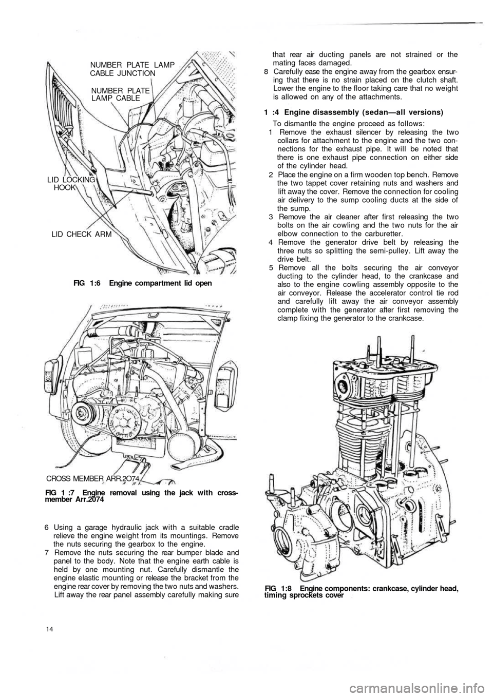 FIAT 500 1970 1.G Workshop Manual, Page 7