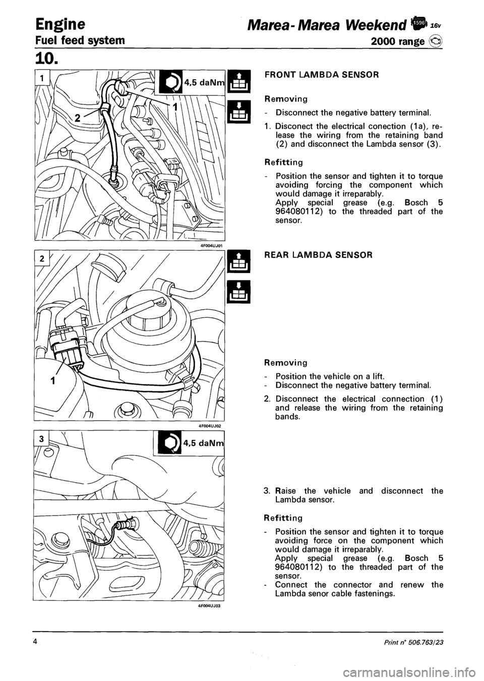 fiat marea 2000 1 g workshop manual