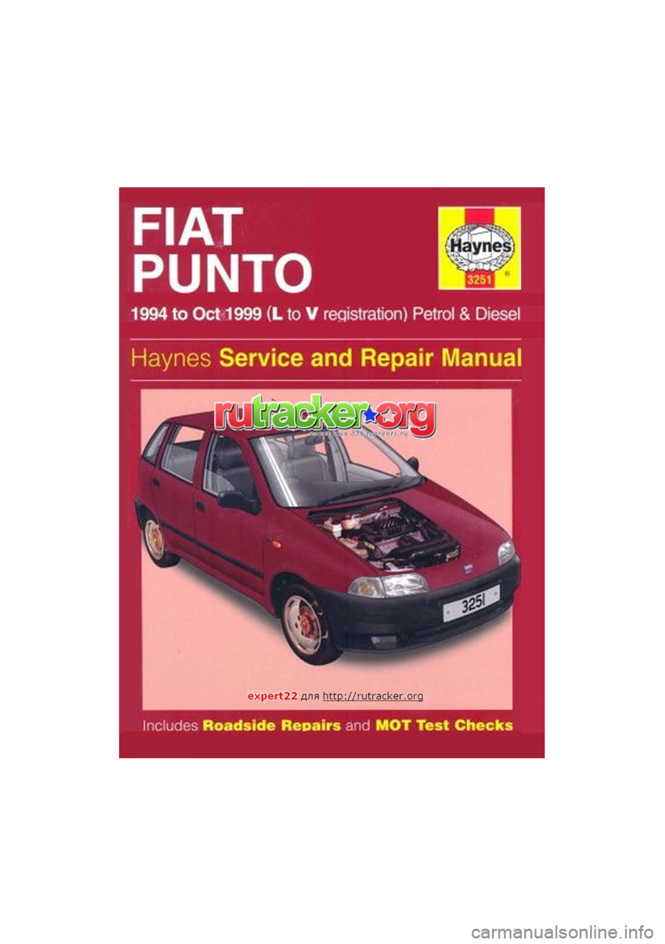 fiat punto 1994 176 1 g workshop manual rh carmanualsonline info haynes manual punto mk1 punto haynes manual