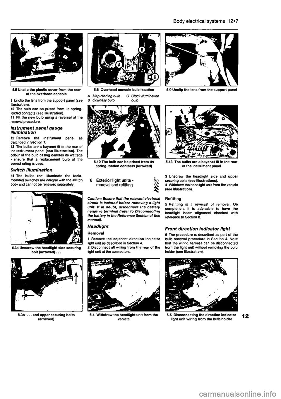 Fiat Punto 1998 176 1g Workshop Manual Wiring Harness