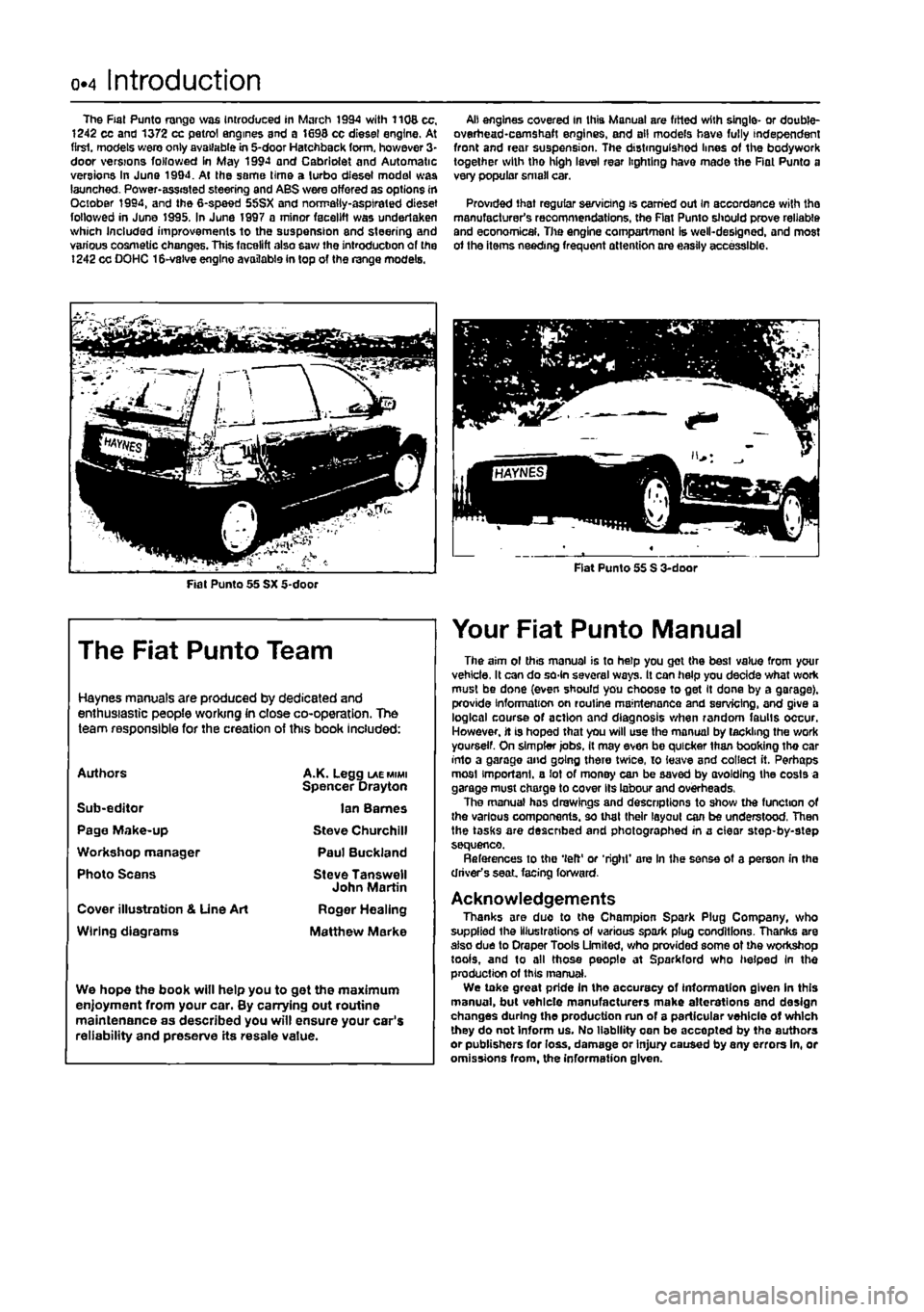 g workshop manual, page 5