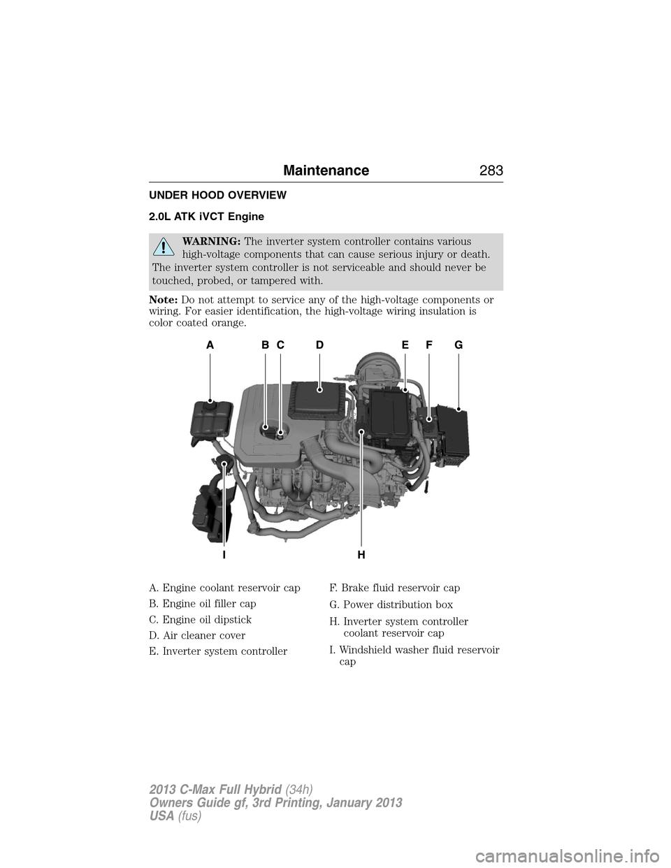 2013 Ford C Max Fuse Diagram Electrical Wiring Vw Hybrid Explained Diagrams Review