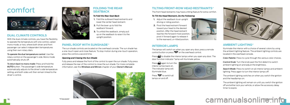 FORD C MAX HYBRID 2013 2.G Quick Reference Guide, Page 9
