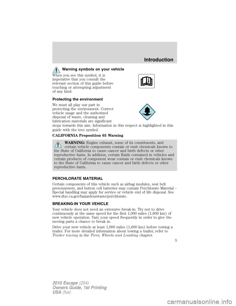 ford escape 2010 2 g owners manual. Black Bedroom Furniture Sets. Home Design Ideas