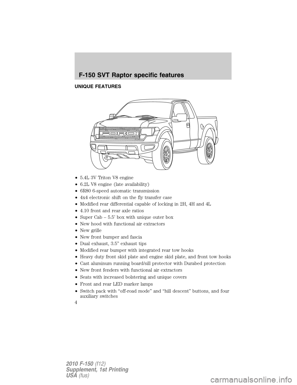 Ford Raptor Aux Switch Wiring 2014 Diagram F150 2010 12 G Supplement Manual Upfitter Switches