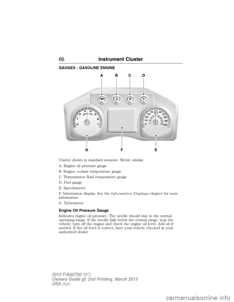 2013 F750 Wiring Diagram Library 2002 Ford For 2 Sd Engine Coolant 12 G Owners Manual Gauge Schematic