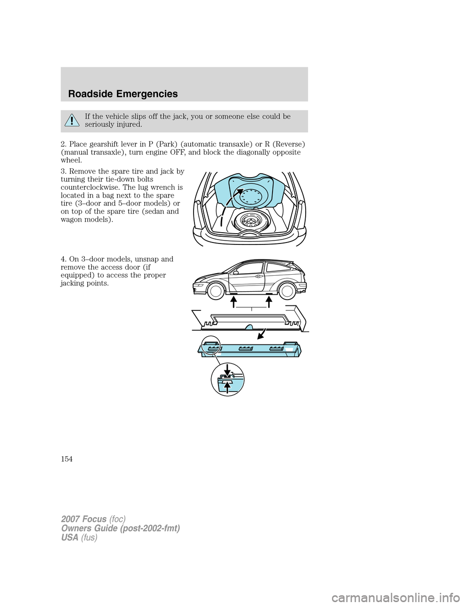 Ford Focus 2007 2g Owners Manual 2 3 Engine Diagram