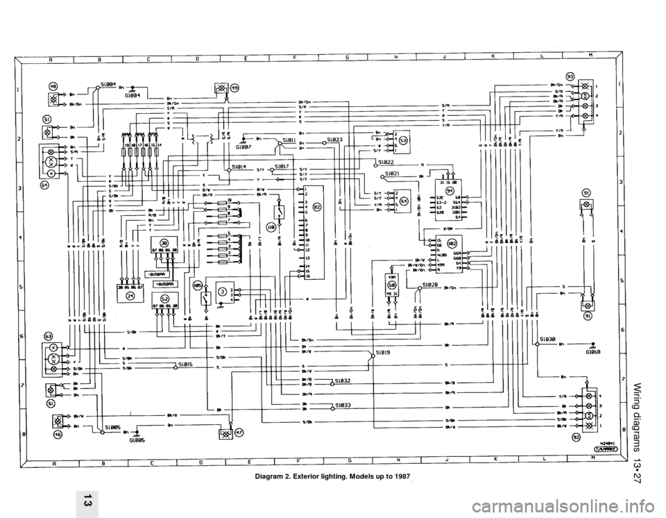Ford Sierra 1989 2 G Wiring Diagrams Workshop Manual