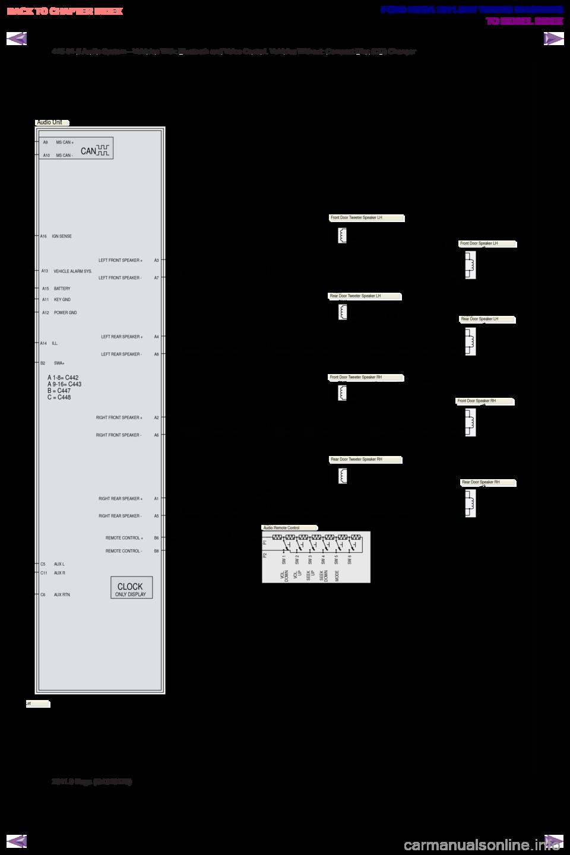 FORD KUGA 2011 1.G G Wiring Diagram on