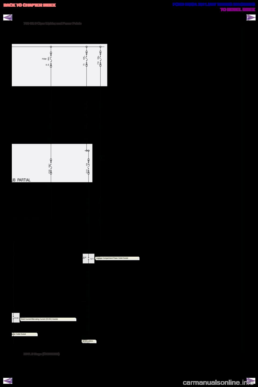 Ford Kuga 2011 1g Wiring Diagram Workshop Manual 12v Cigarette Lighter G