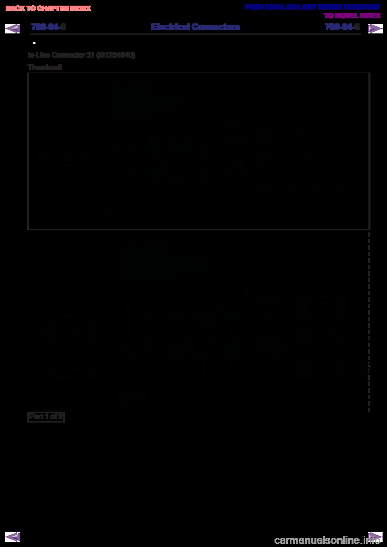 Ford Kuga 2011 1g Wiring Diagram Workshop Manual 601
