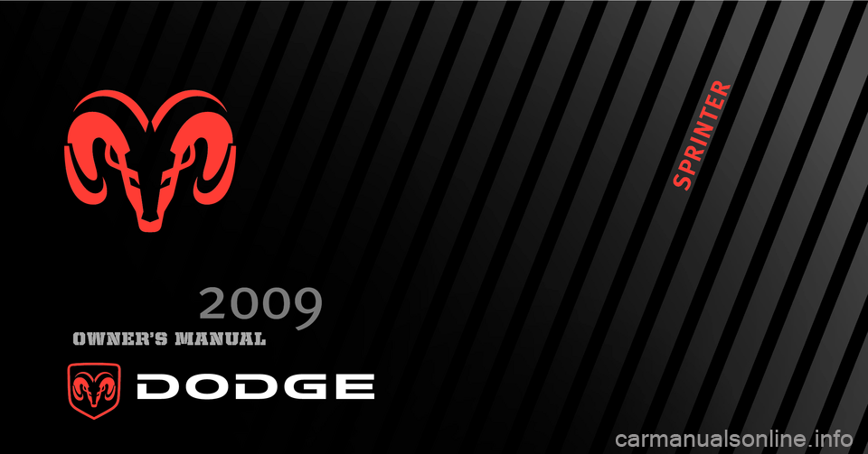 DODGE SPRINTER 2009 2.G Owners Manual, Page 1