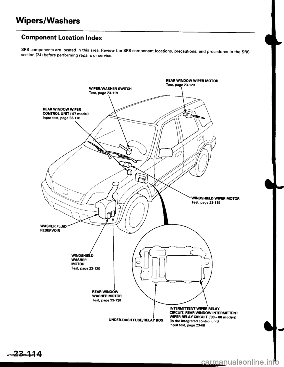honda cr  1 g workshop manual
