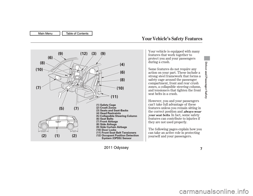 Honda Odyssey 2011 Rb3 Rb4 4 G Owners Manual