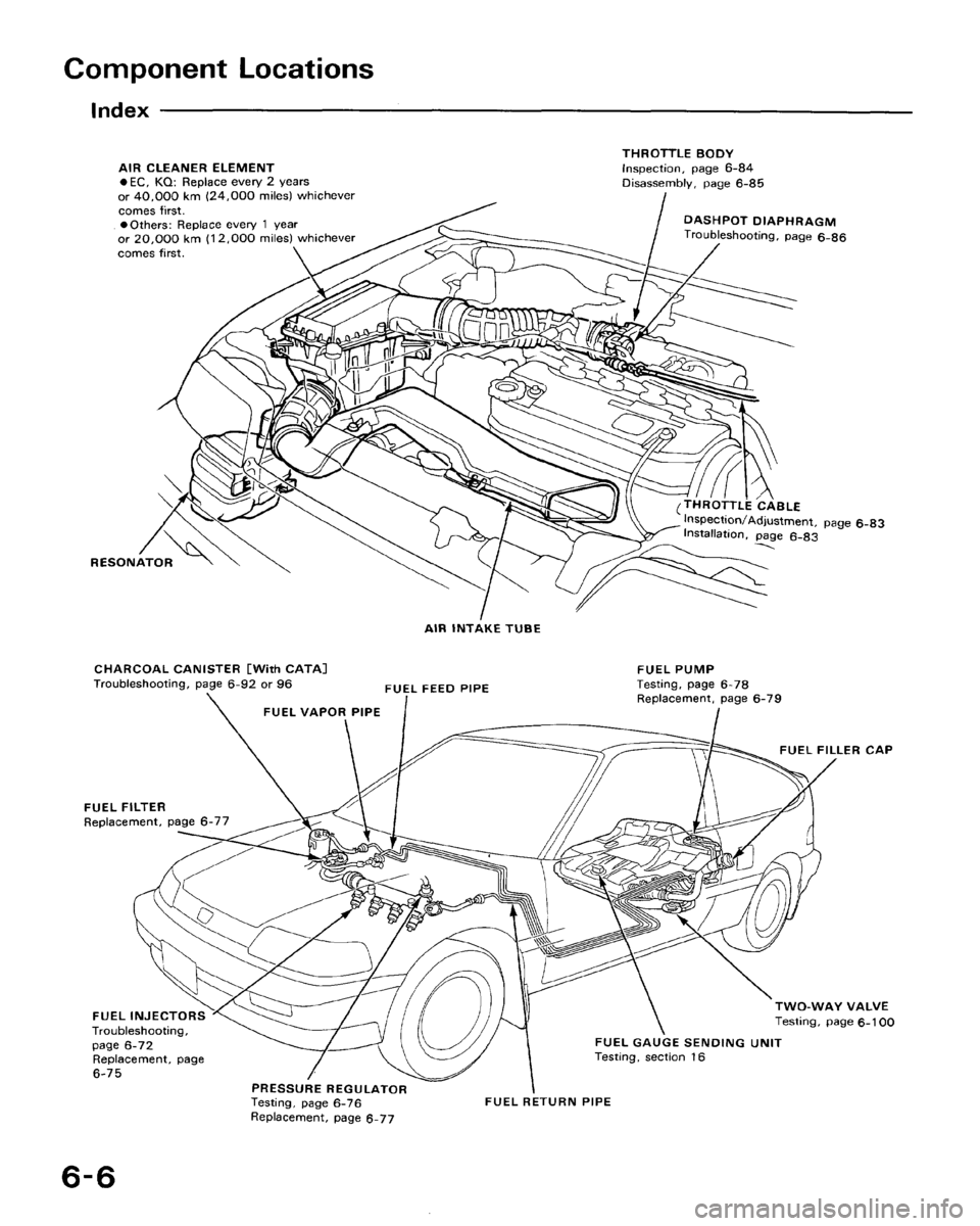 honda crx 1988 2 g workshop manual