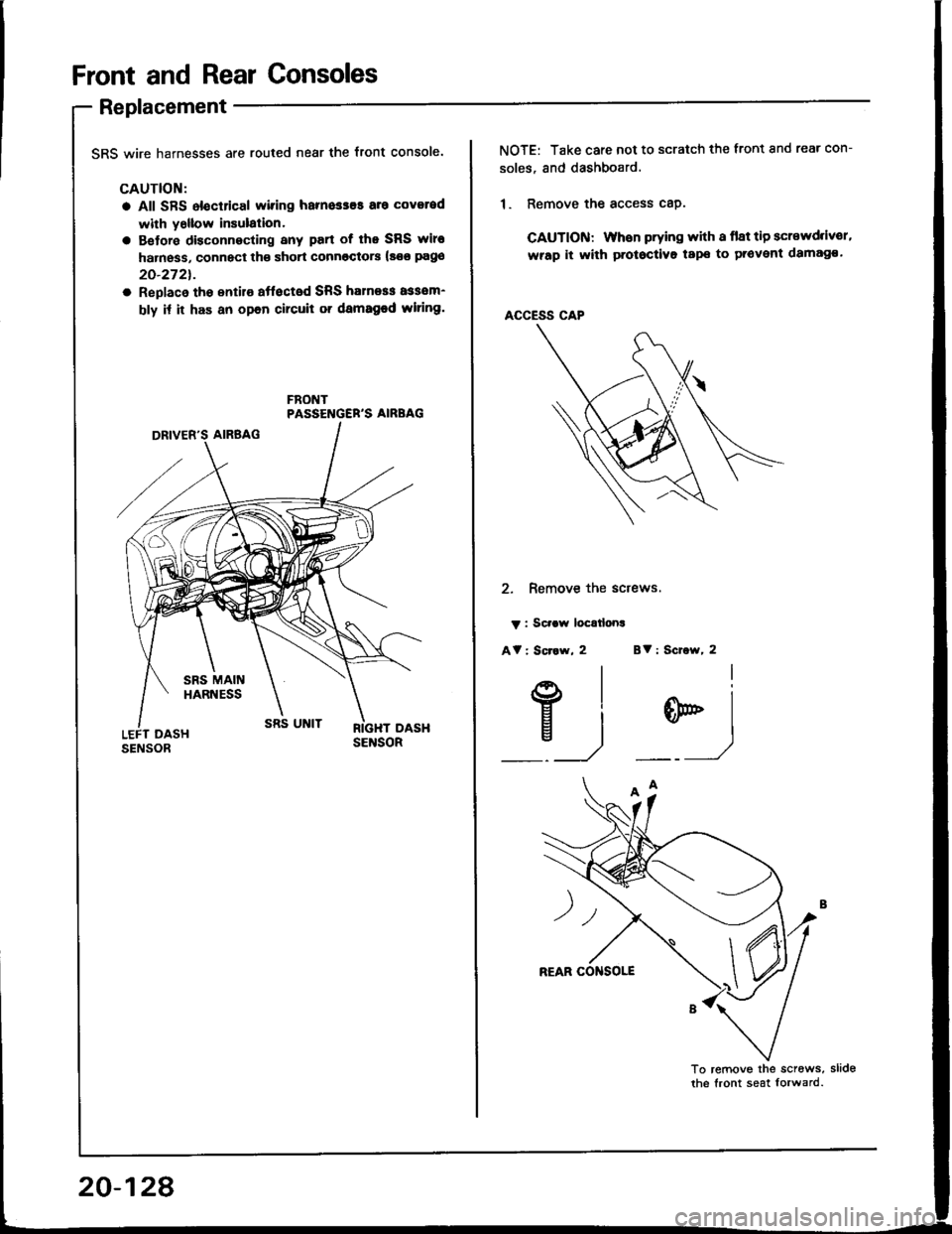 Honda Integra 1994 4g Workshop Manual 94 Wiring Harness