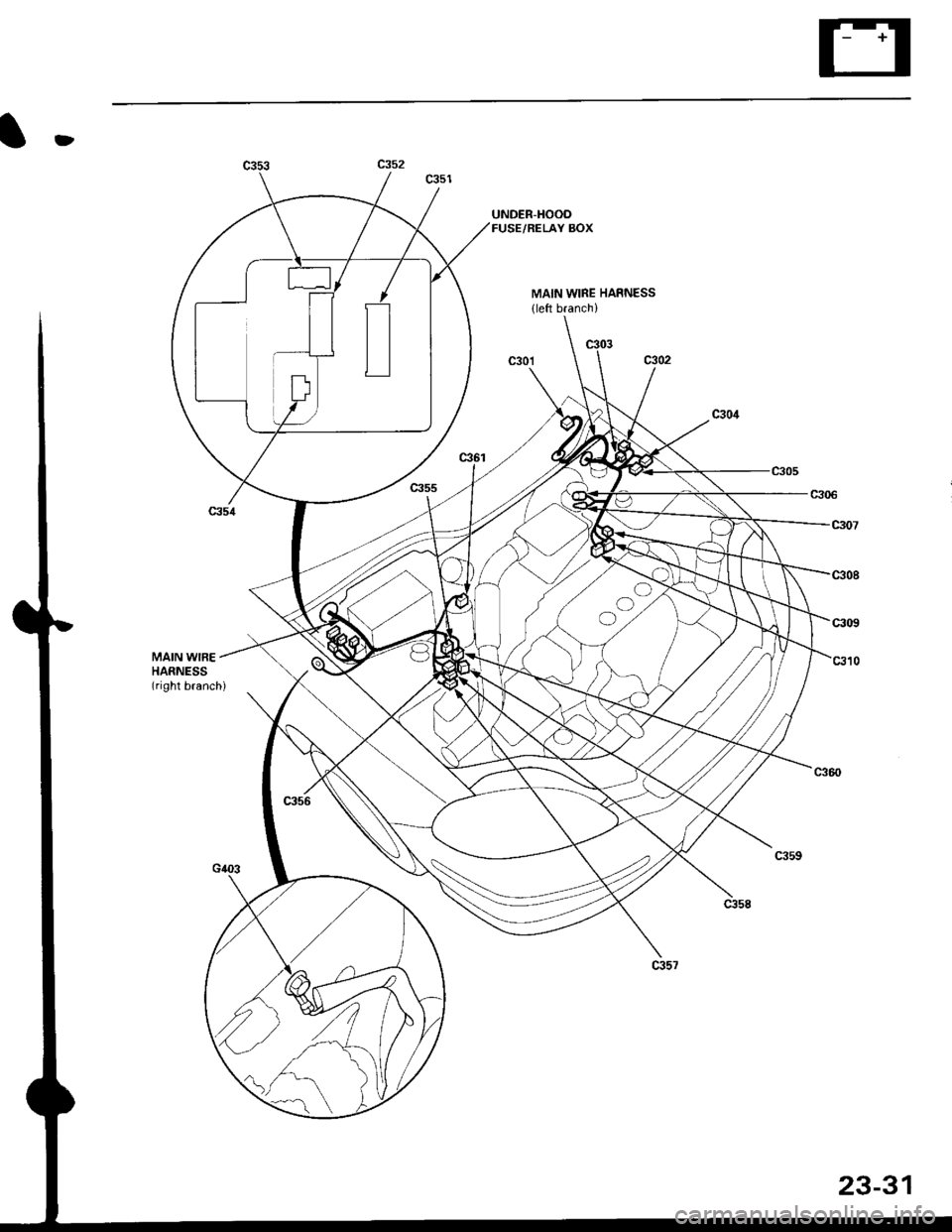 h22a4 engine harness diagram  h22a4  get free image about