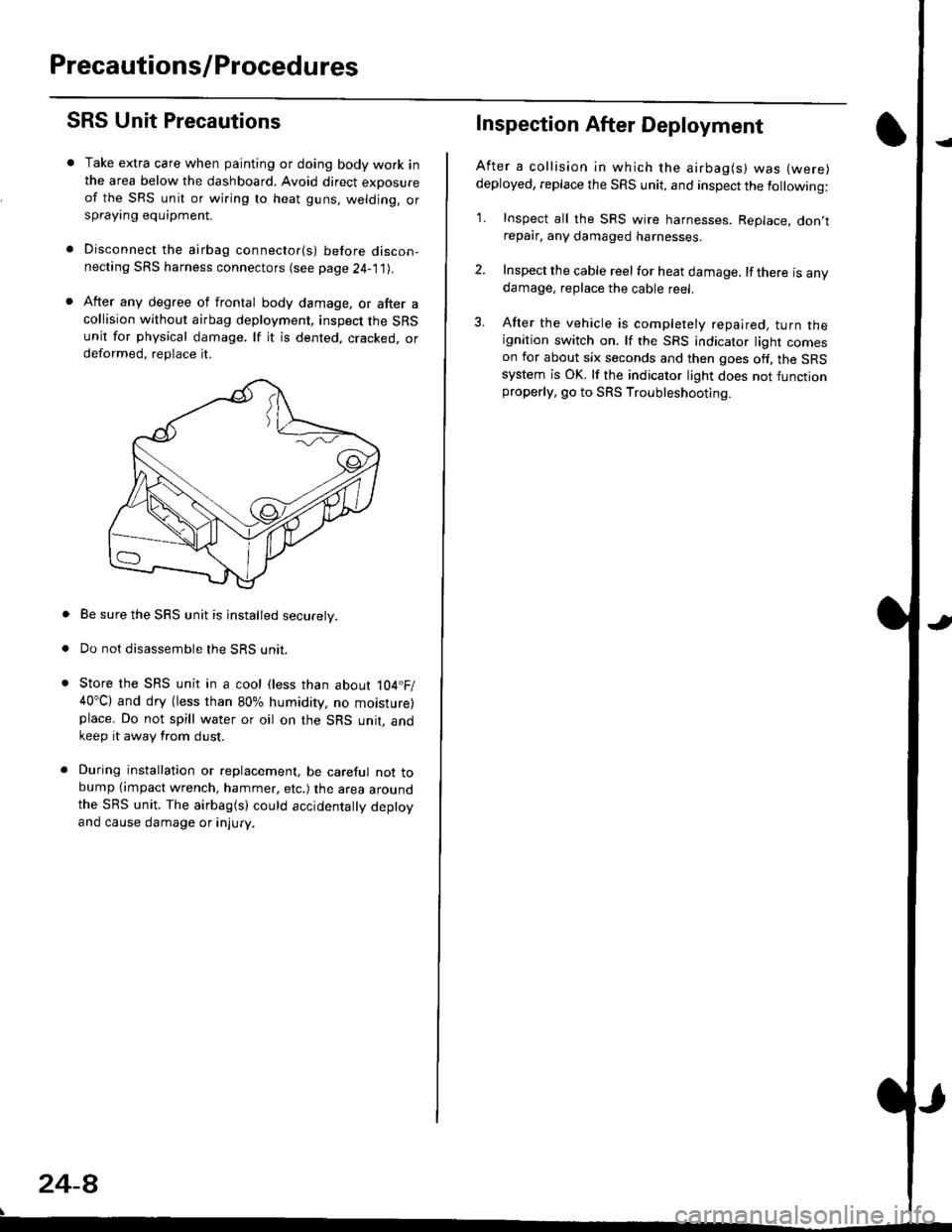 Honda Civic 1996 Repair Manual