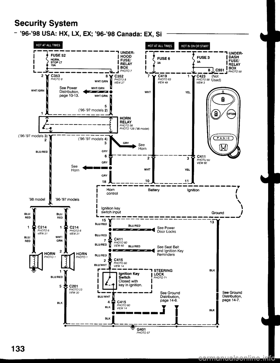 2004 ford freestar steering column parts diagram