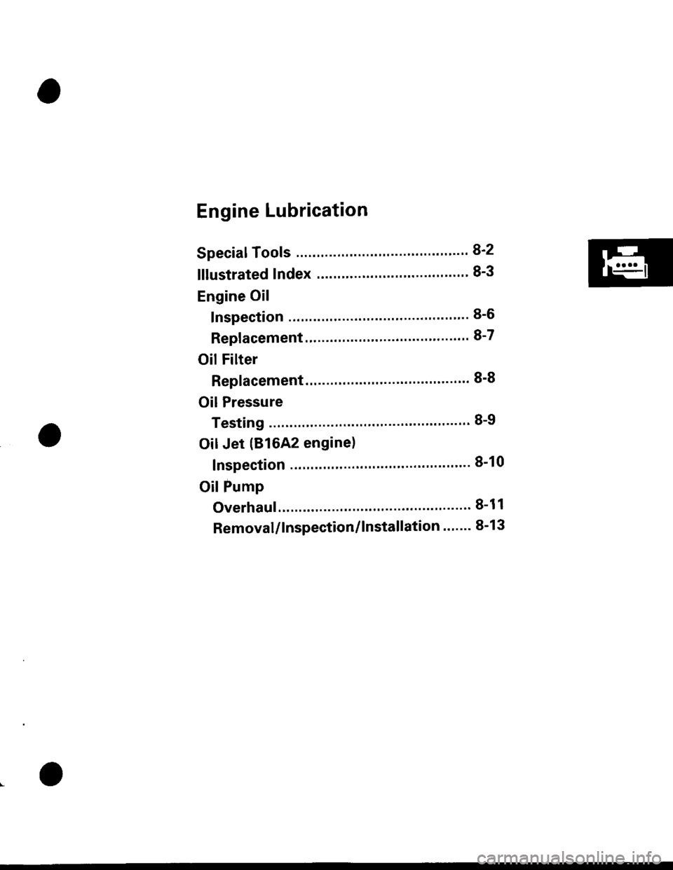 Honda Civic Oil Filter Location Schematic Electrical Wiring Diagrams Saturn Sl Fuel 1999 6 G Workshop Manual 1988 Accord