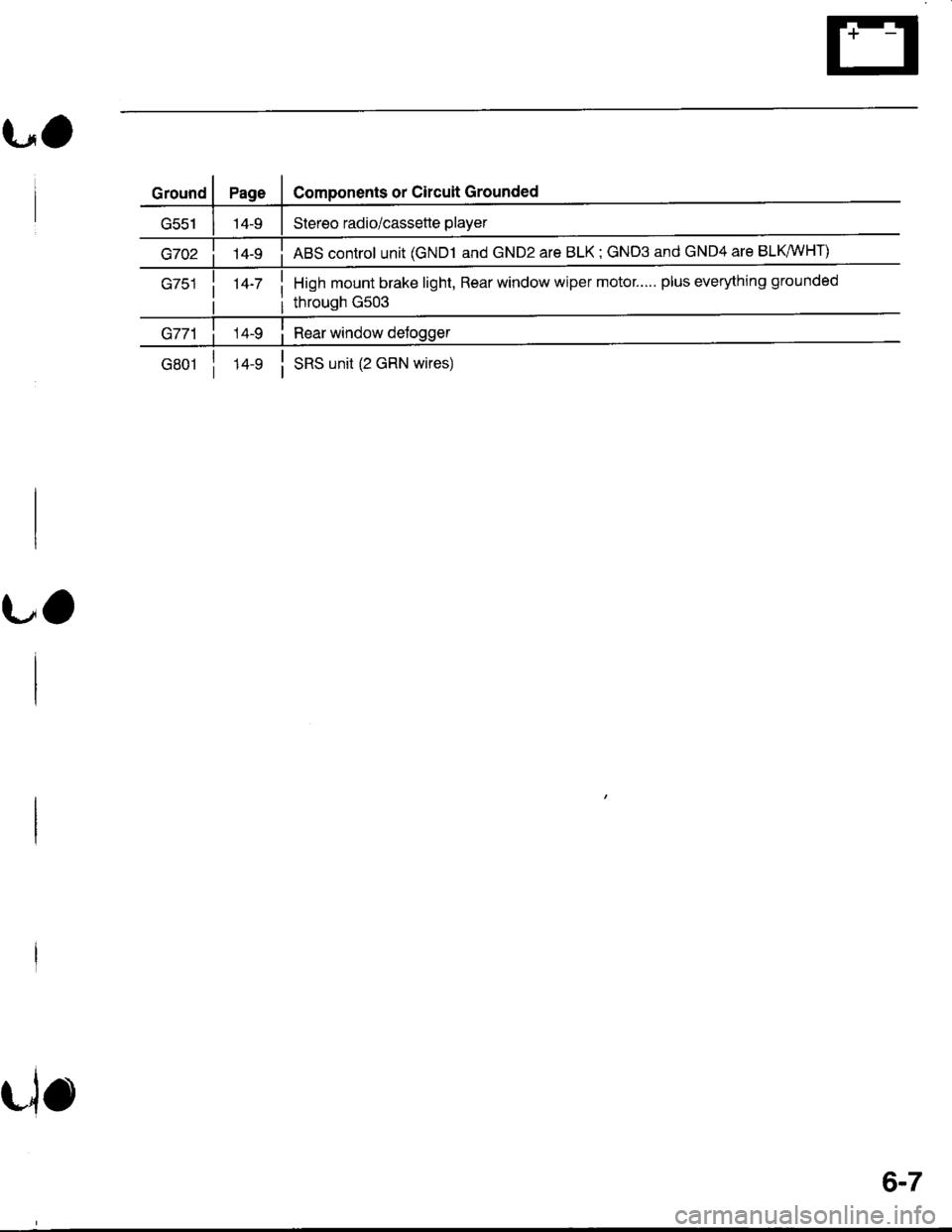 Honda Integra 1998 4g Wiper Motor Wiring Workshop Manual Page 1407