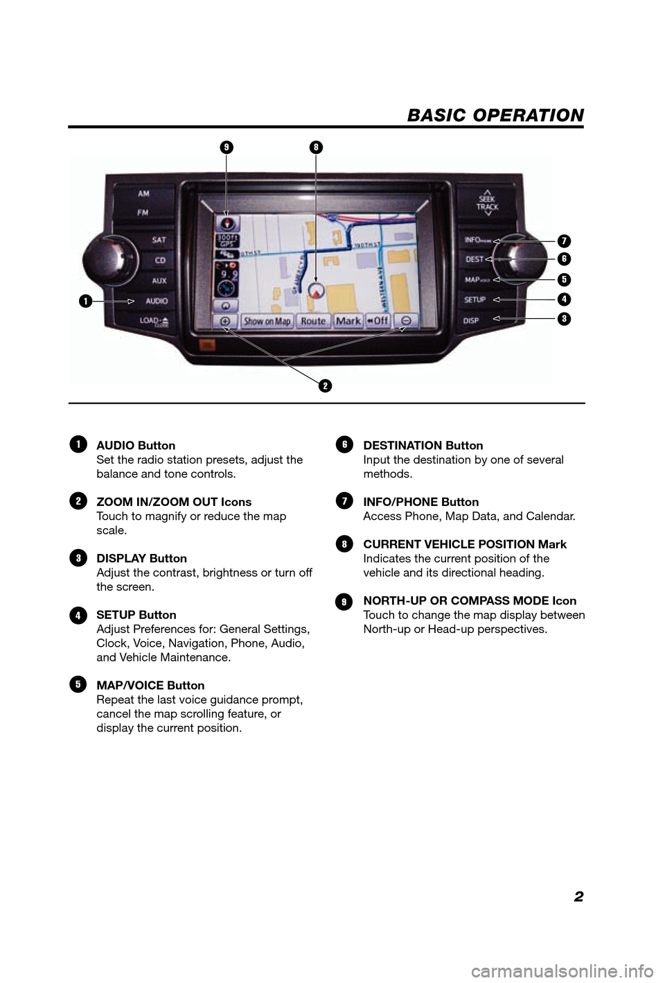 TOYOTA 4RUNNER 2012 N280 / 5.G Navigation Manual, Page 3