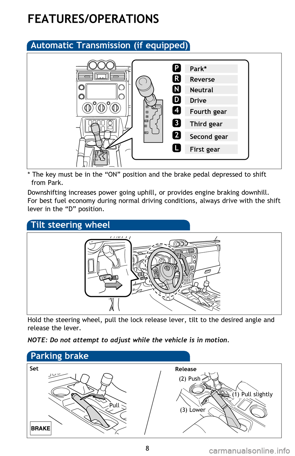 Toyota Fj Cruiser 2013 1g Quick Reference Guide For Brake Light Switch Wiring Diagram Page 10