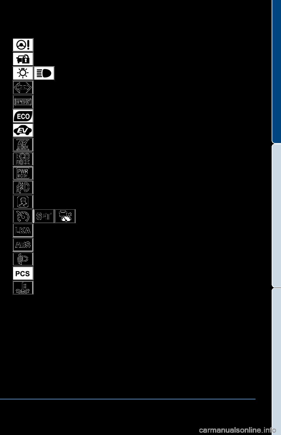 Sienna toyota sienna dashboard warning symbols toyota sienna toyota prius 2014 3g quick reference guide 2005 toyota corolla dashboard warning lights buycottarizona